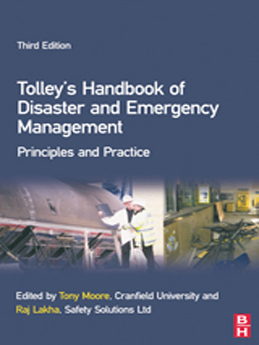 Tolley's Handbook of Disaster and Emergency Management By: