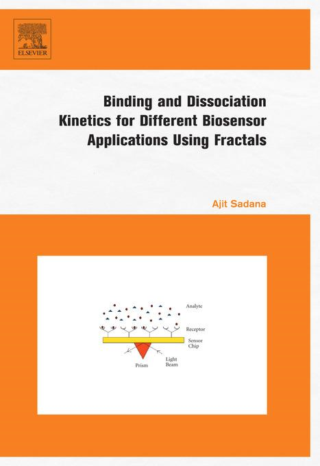 Binding and Dissociation Kinetics for Different Biosensor Applications Using Fractals