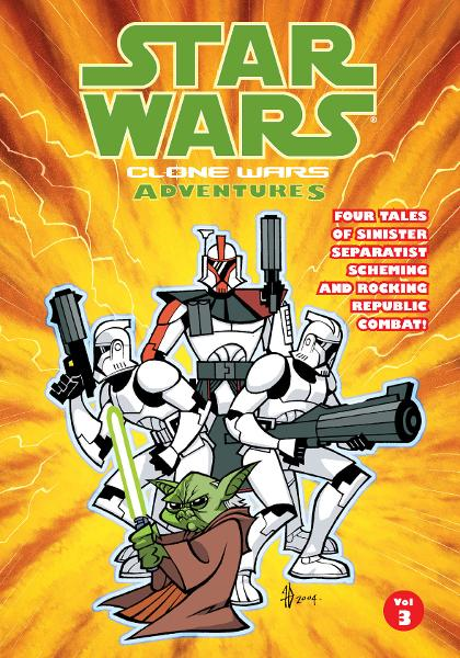 Star Wars: Clone Wars Adventures Vol. 3 By: Haden Blackman, Ryan Kaufman, Tim Mucci, Matt Fillbach (Artist), Shawn Fillbach (Artist)