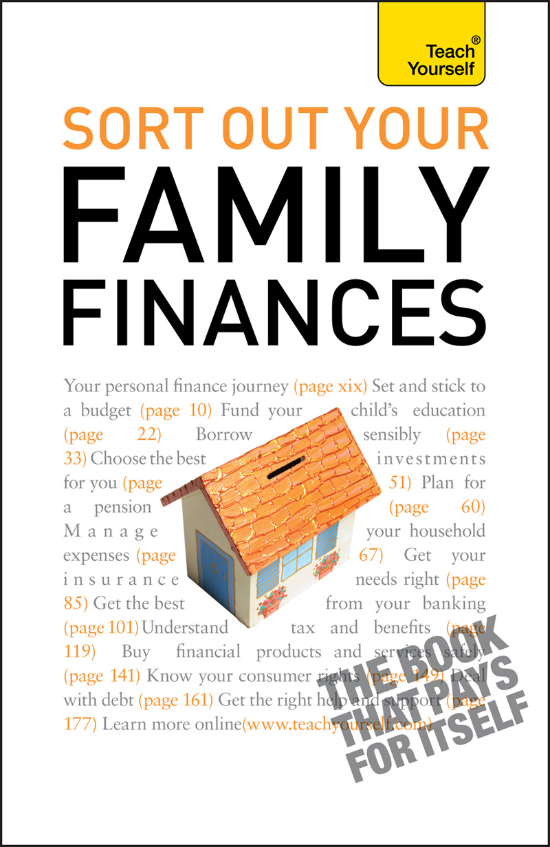 Sort Out Your Family Finances: Teach Yourself