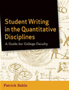 Student Writing In The Quantitative Disciplines: