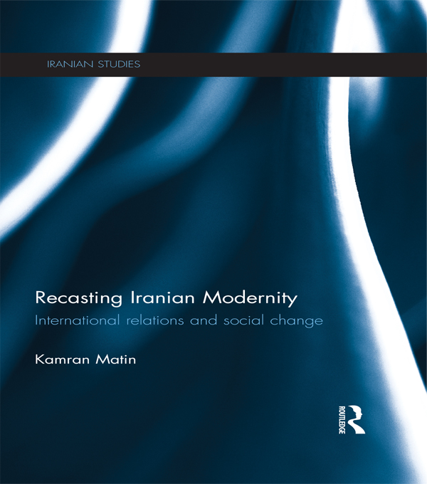 Rethinking Iran International Relations and Social Change