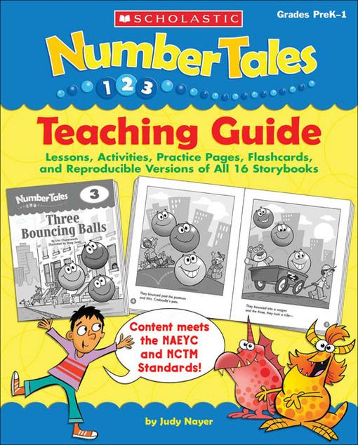 Number Tales: Teaching Guide: Lessons, Activities, Practice Pages, Flashcards, and Reproducible Versions of All 16 Storybooks