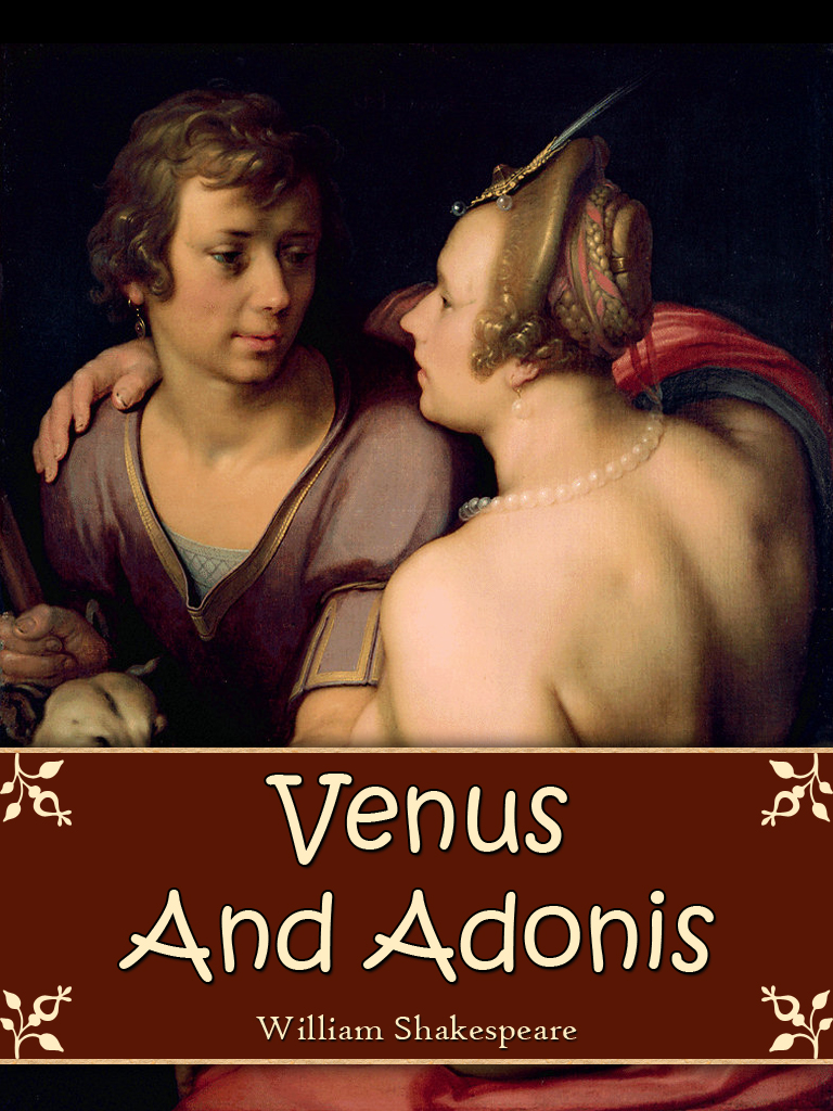 themes of sexuality in venus and adonis by william shakespeare