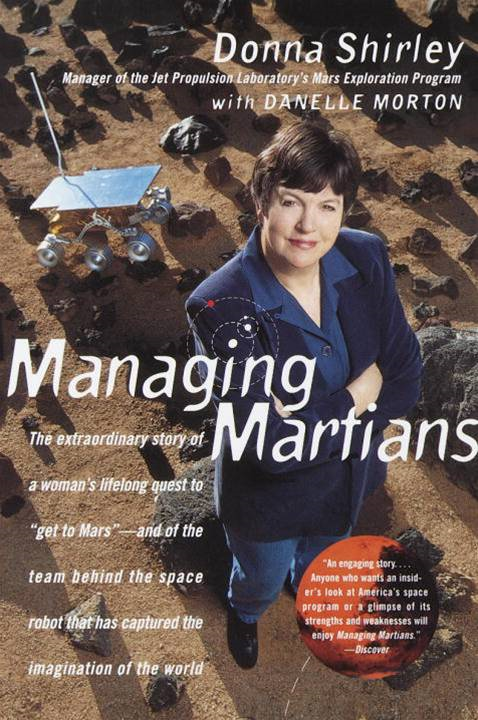 Cover Image: Managing Martians