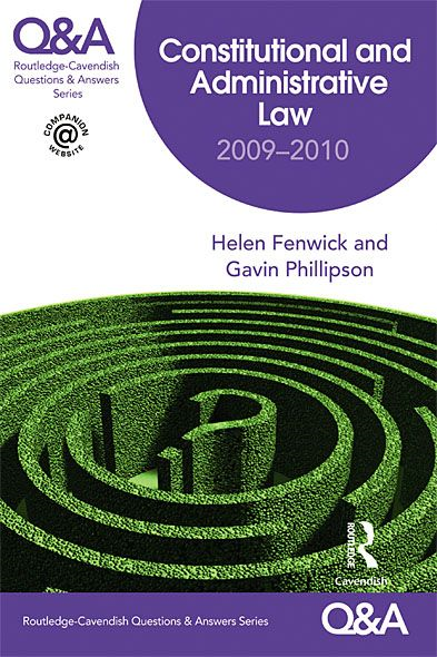 Q&A Constitutional & Administrative Law 2009-2010