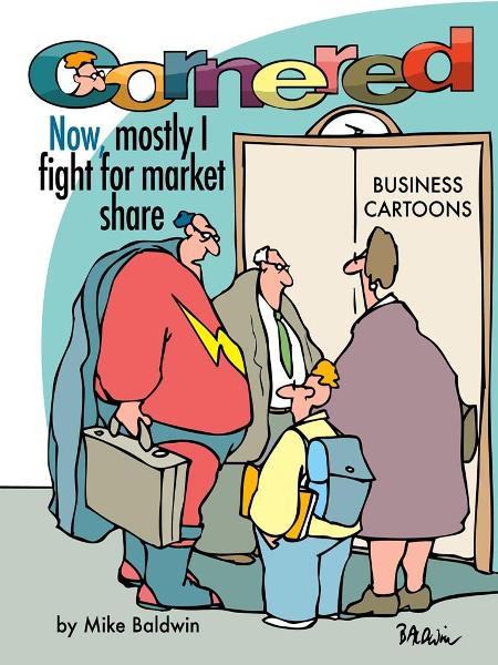 Cornered - Now, Mostly I Fight For Market Share