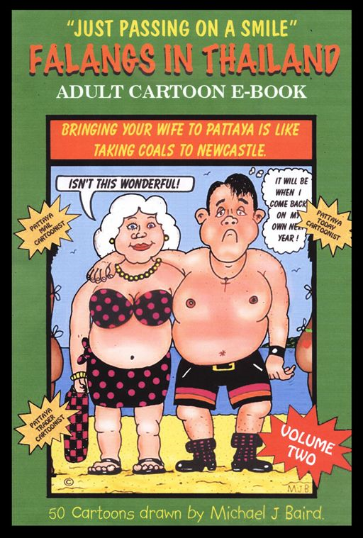 Adult Cartoon e-Book - Volume 2 By: Michael J. Baird