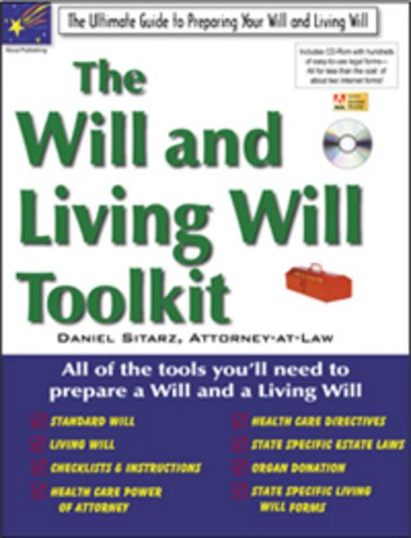 Will & Living Will Toolkit: The Ultimate