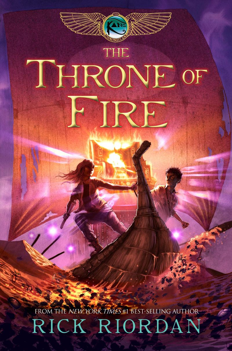The Throne of Fire By: Rick Riordan
