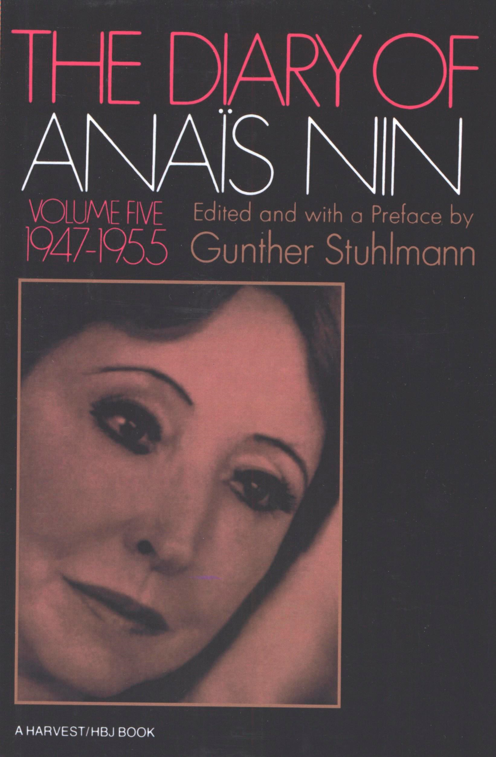 Diary Of Anais Nin Volume 5 1947-1955