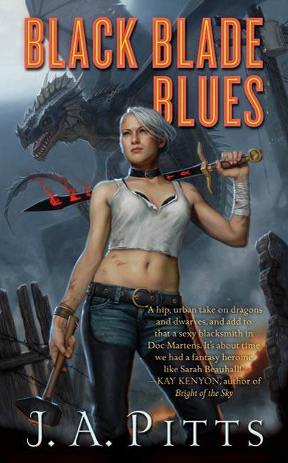 Black Blade Blues By: J. A. Pitts