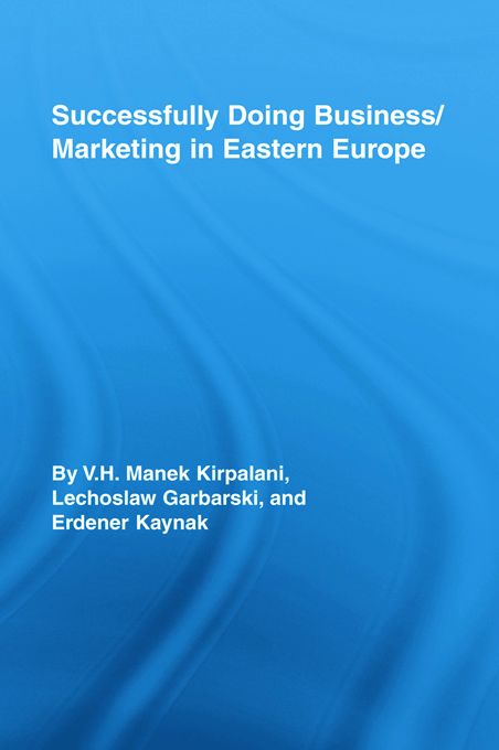 Successfully Doing Business/Marketing In Eastern Europe