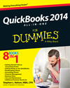 Quickbooks 2014 All-In-One For Dummies: