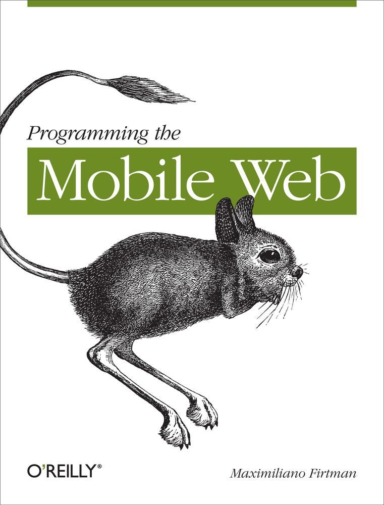 Programming the Mobile Web By: Maximiliano Firtman