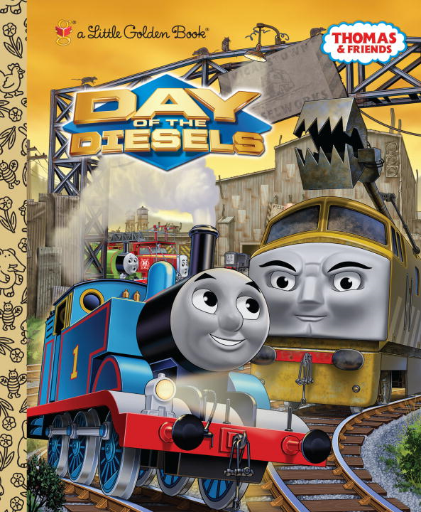 Day of the Diesels (Thomas & Friends) By: Rev. W. Awdry,Golden Books