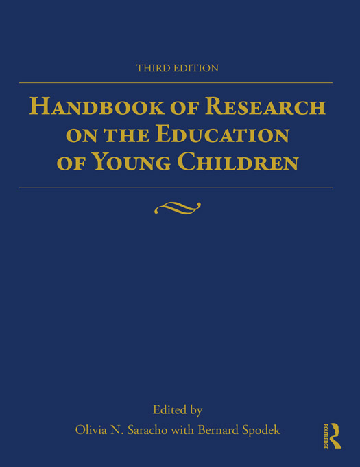 Handbook of Research on the Education of Young Children By: