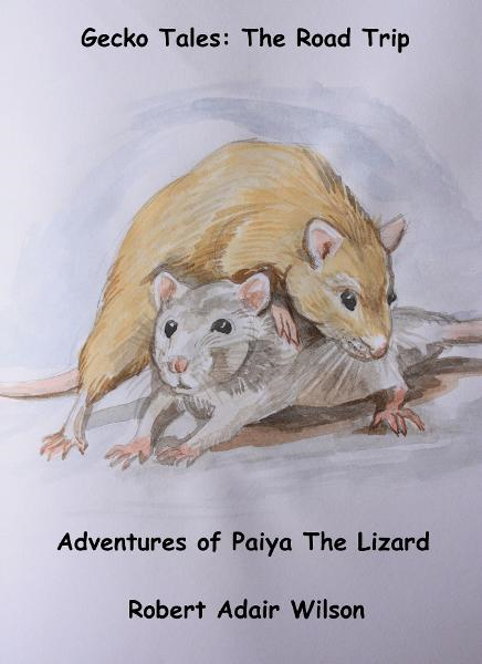 Gecko Tales: The Road Trip - Adventures of Paiya The Lizard