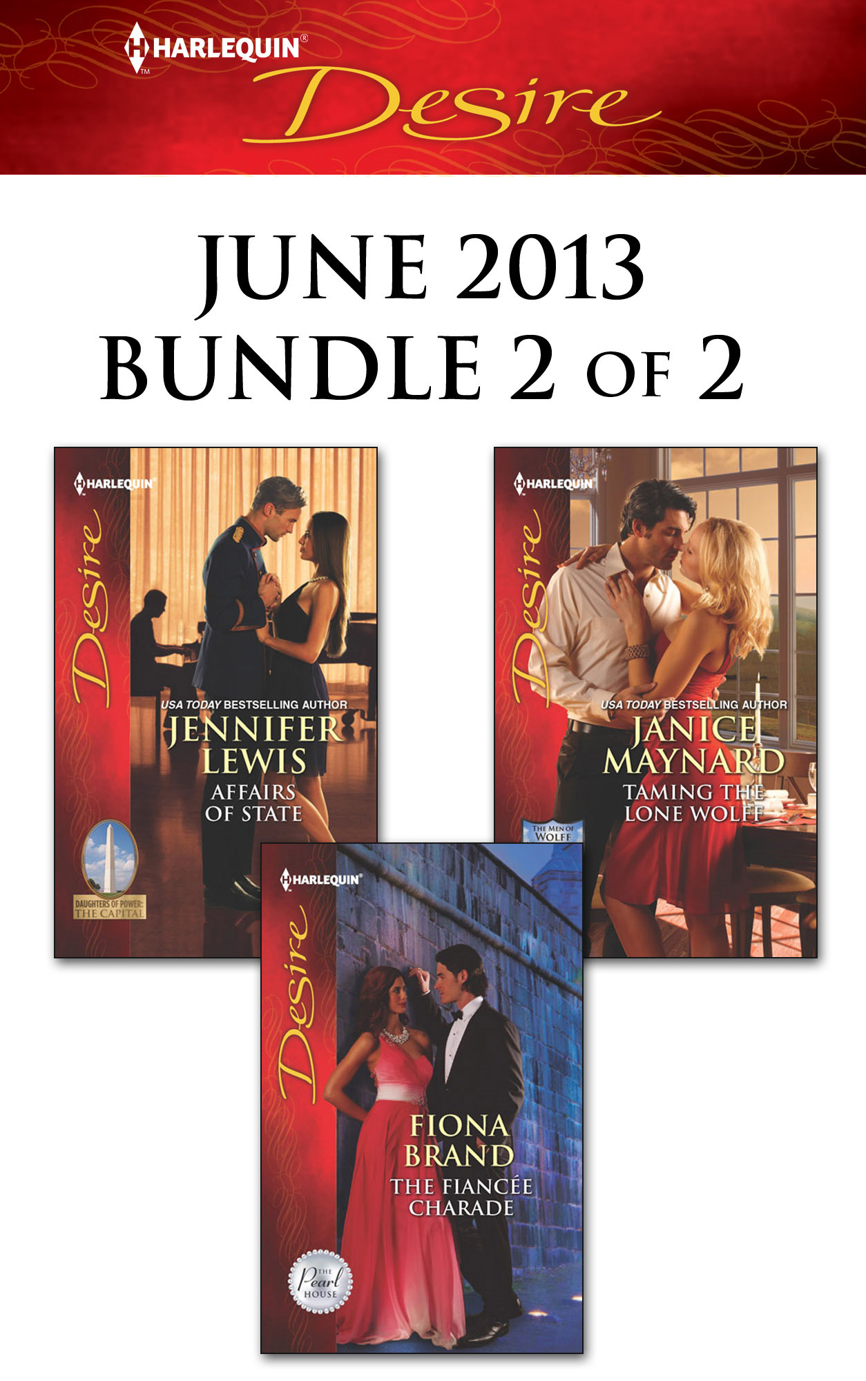Harlequin Desire June 2013 - Bundle 2 of 2