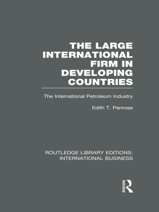The Large International Firm
