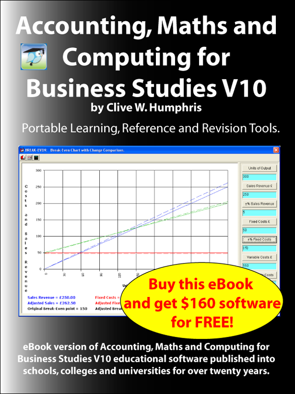 Accounting, Maths & Computing for Business Studies V10