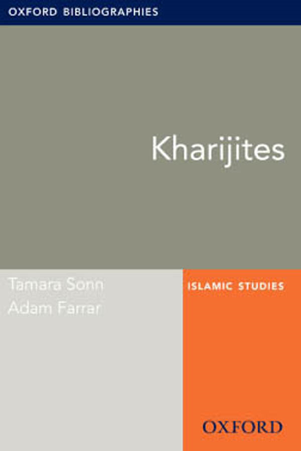 Kharijites: Oxford Bibliographies Online Research Guide
