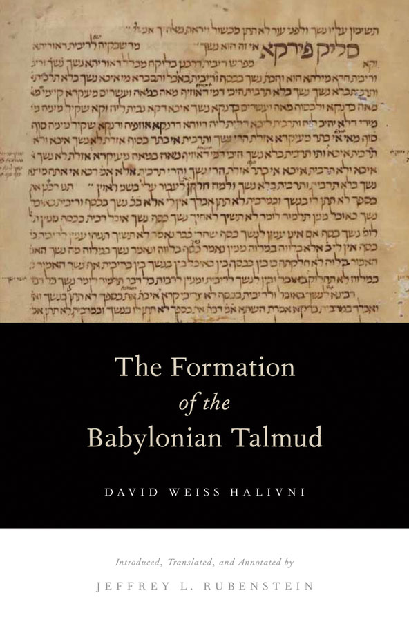 The Formation of the Babylonian Talmud
