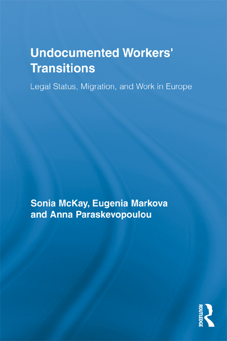 Undocumented Workers' Transitions: Legal Status, Migration, and Work in Europe