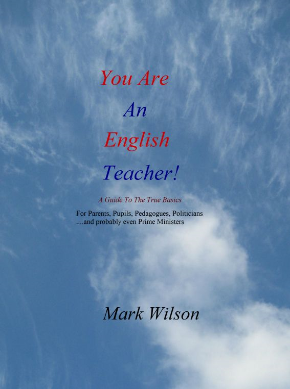You Are An English Teacher!