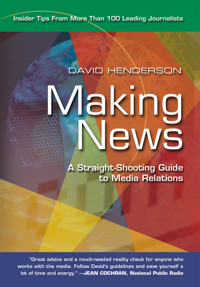 Making News By: David Henderson