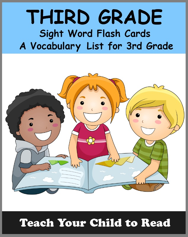 THIRD GRADE - Sight Word Flash Cards