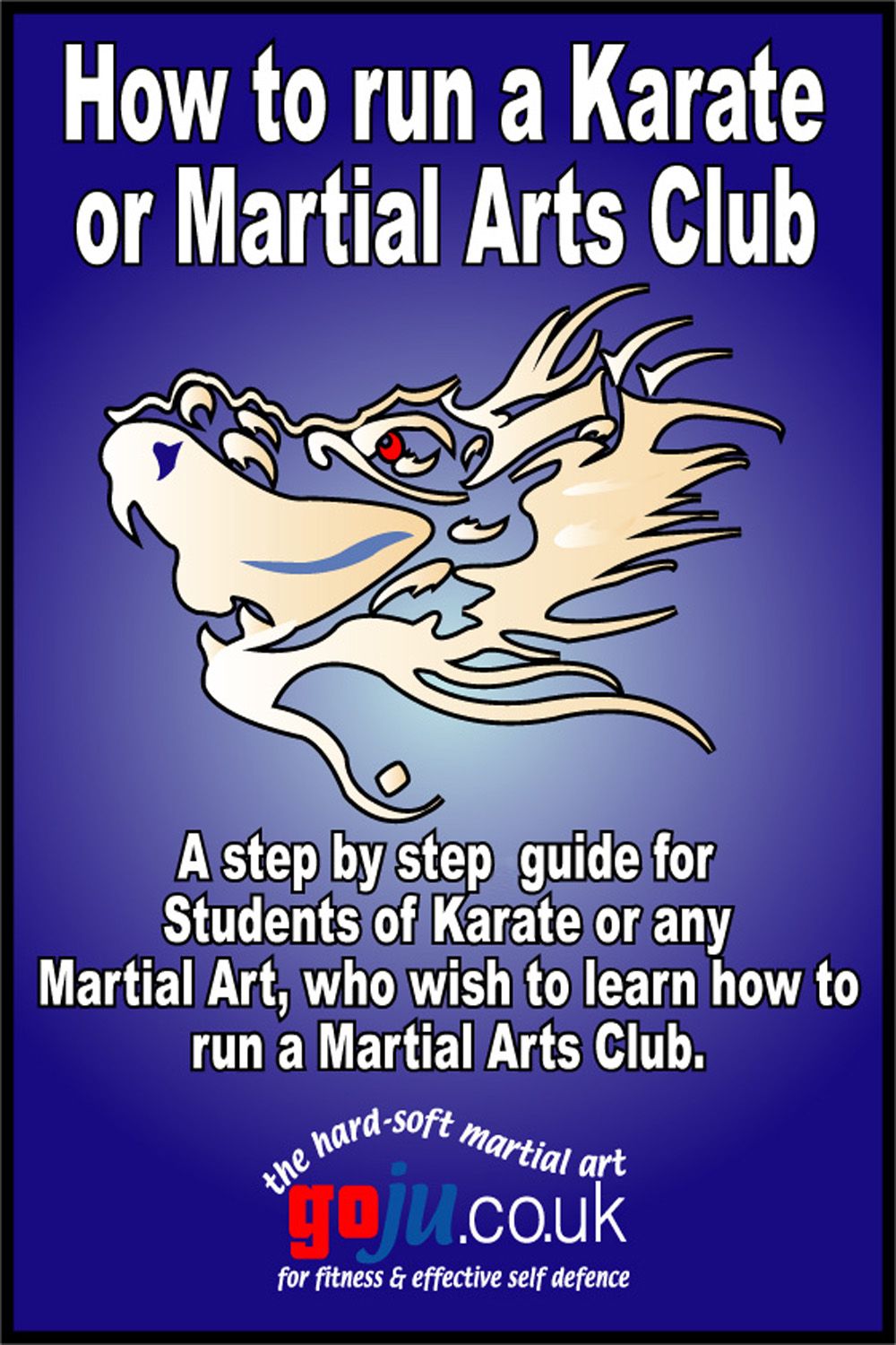 How to Run a Karate Club By: Tom Hill