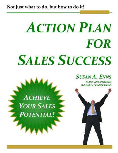 Action Plan For Sales Success By: Susan A. Enns