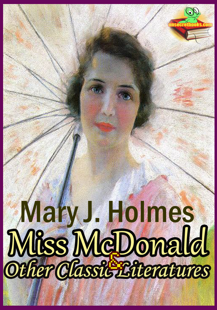 Miss McDonald: Family Pride: The English Orphans: The Rector of St. Mark's