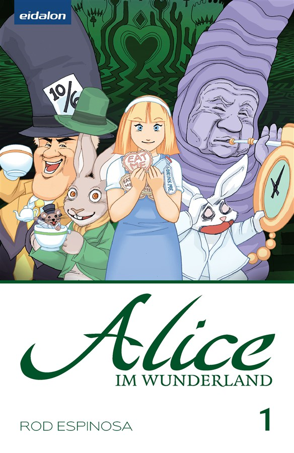 Alice im Wunderland #1 - German