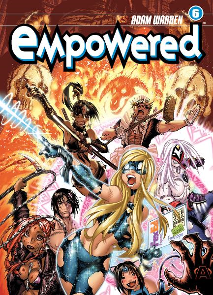 Empowered Volume 6 By: Adam Warren