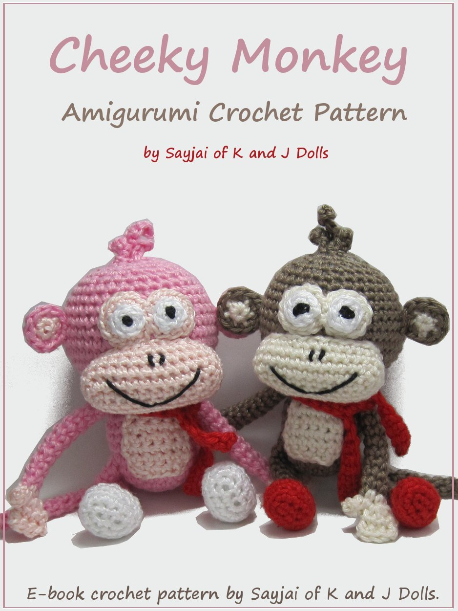 Cheeky Monkey Amigurumi Crochet Pattern