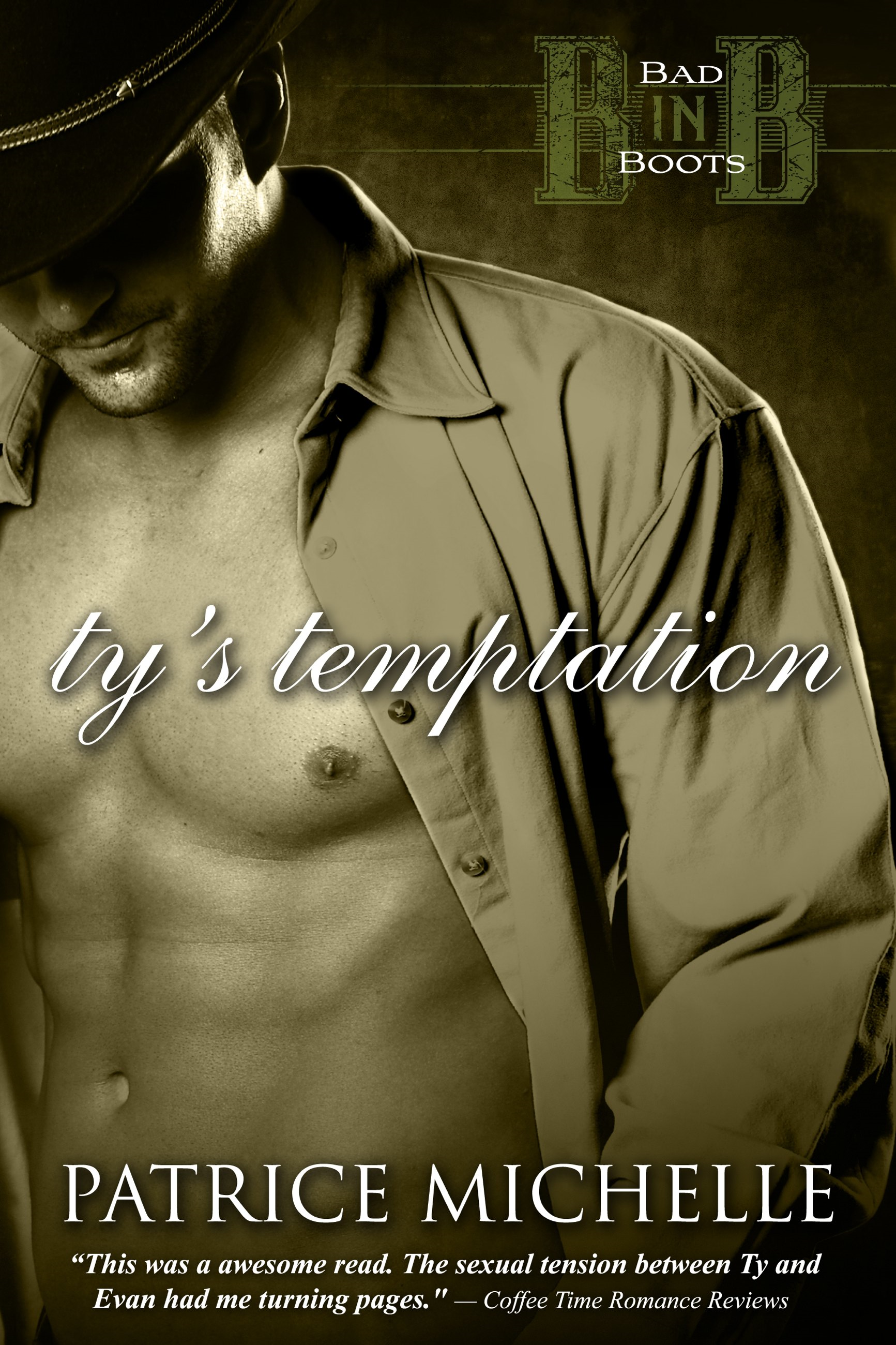 Ty's Temptation (Bad in Boots, Book 2)