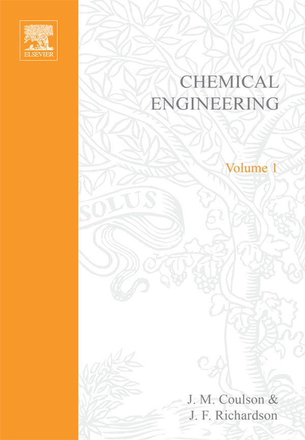 Chemical Engineering: Solutions to the Problems in Volume 1 Solutions to the Problems in Volume 1