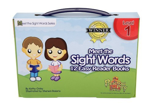 Meet the Sight Words Level 1 Easy Reader Books (set of 12 books)