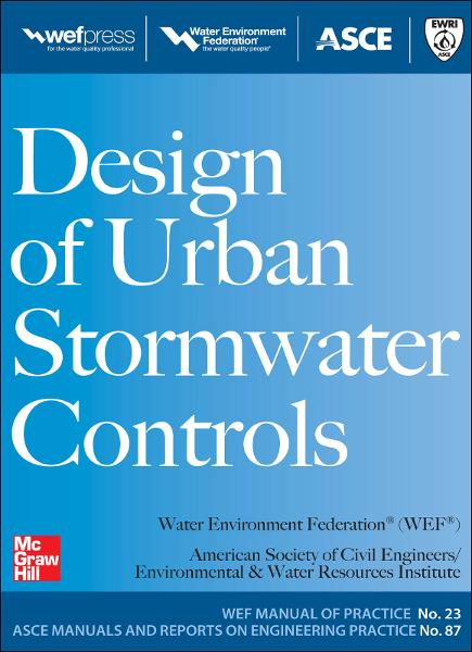 Design of Urban Stormwater Controls, MOP 23 : MOP 23: MOP 23