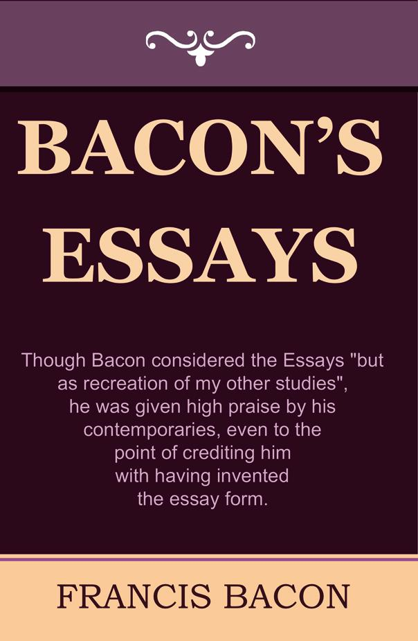 bacon essay of friendship