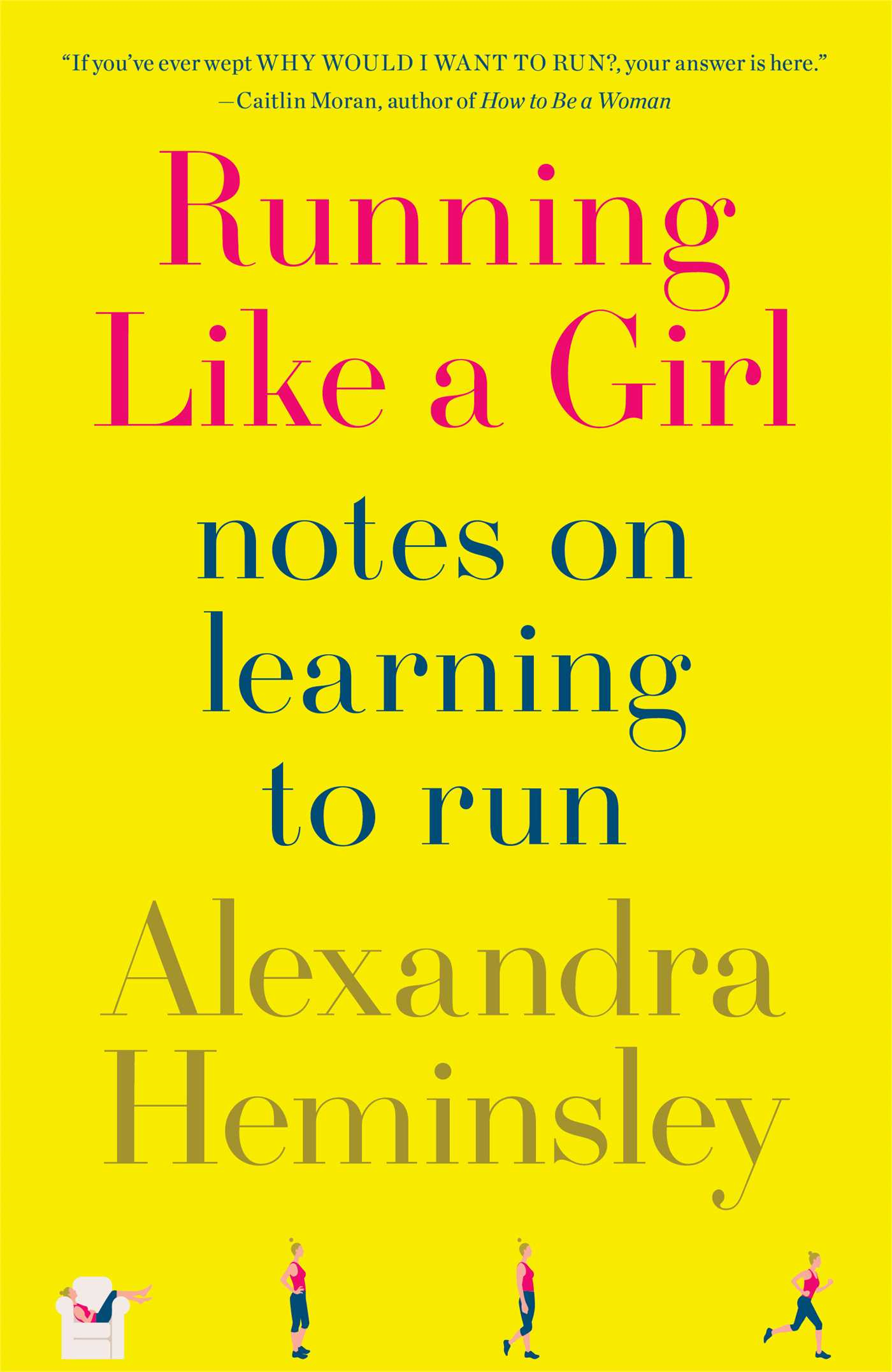 Book Cover: Running Like a Girl