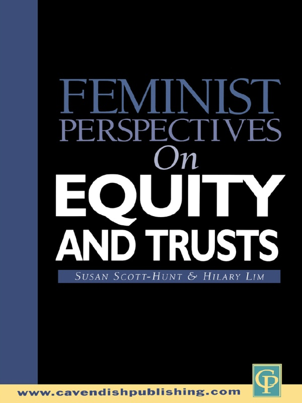 Feminist Perspectives Equity and Trusts