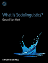 What Is Sociolinguistics: