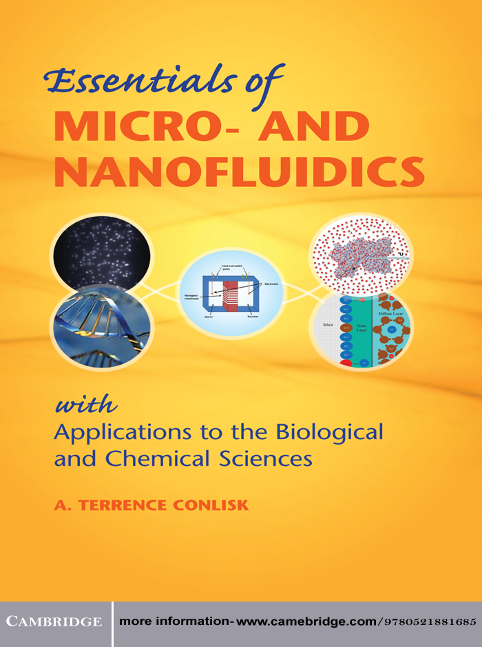Essentials of Micro- and Nanofluidics With Applications to the Biological and Chemical Sciences