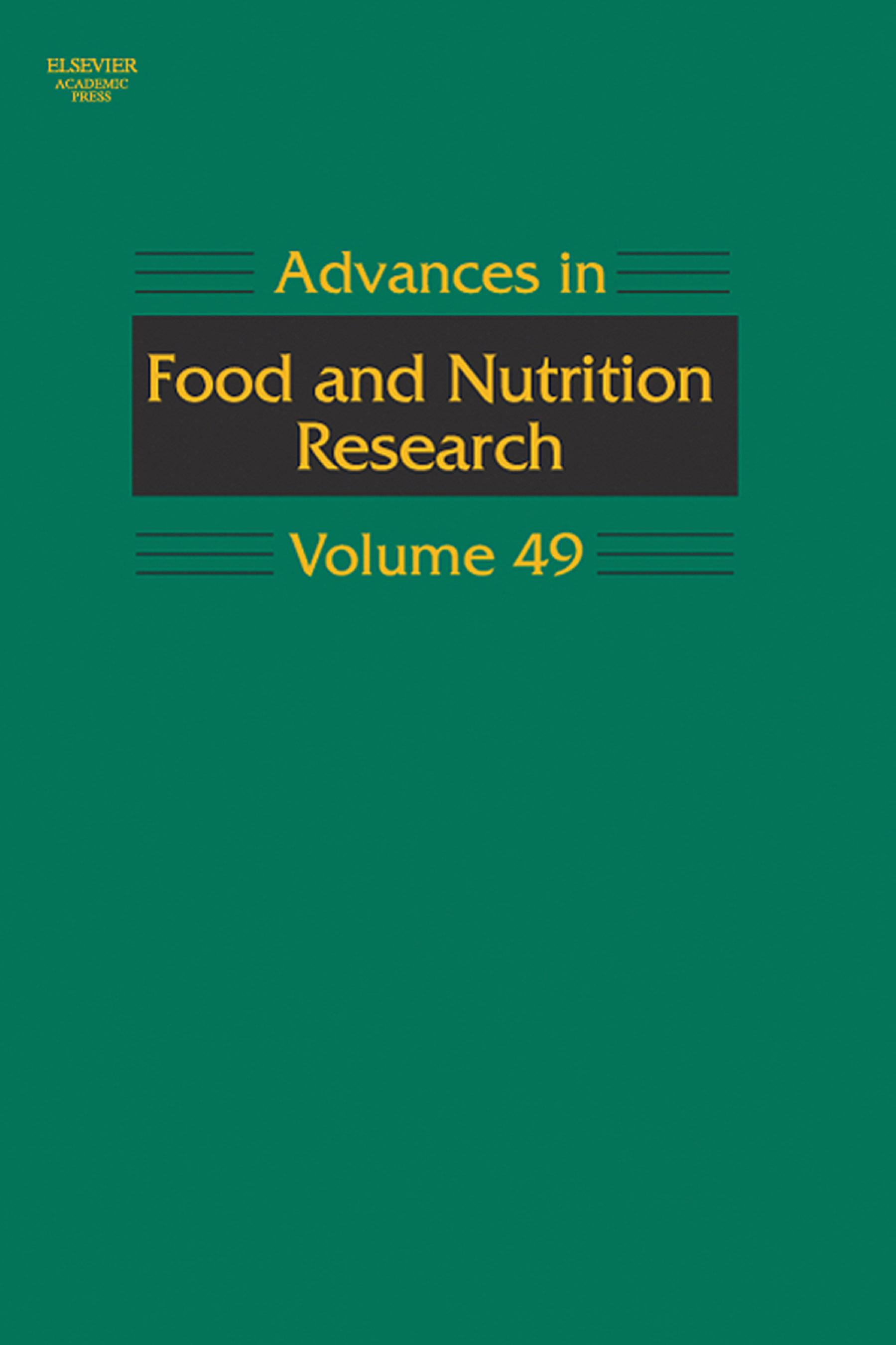 Advances in Food and Nutrition Research By: Taylor, Steve