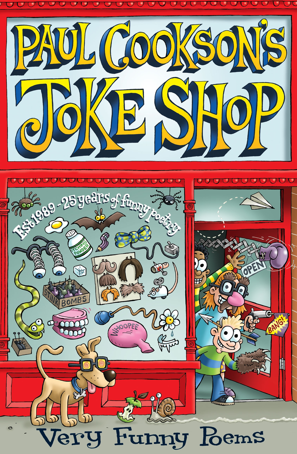 Paul Cookson's Joke Shop Selected Paul Cookson Poems