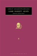 Lamb, Hazlitt, Keats: Great Shakespeareans: Volume Iv