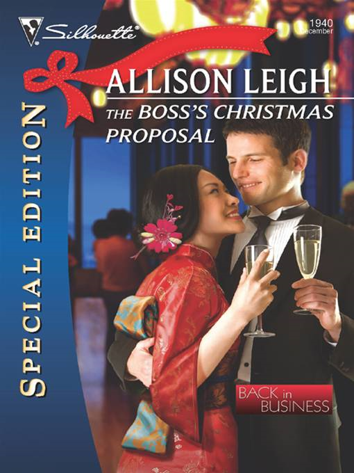 The Boss's Christmas Proposal By: Allison Leigh